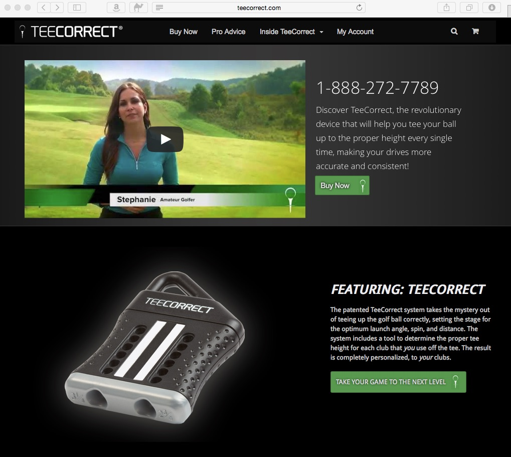 teecorrect webpage