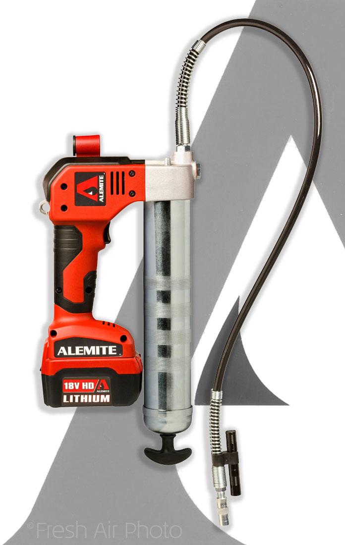 Alemite-grease-gun