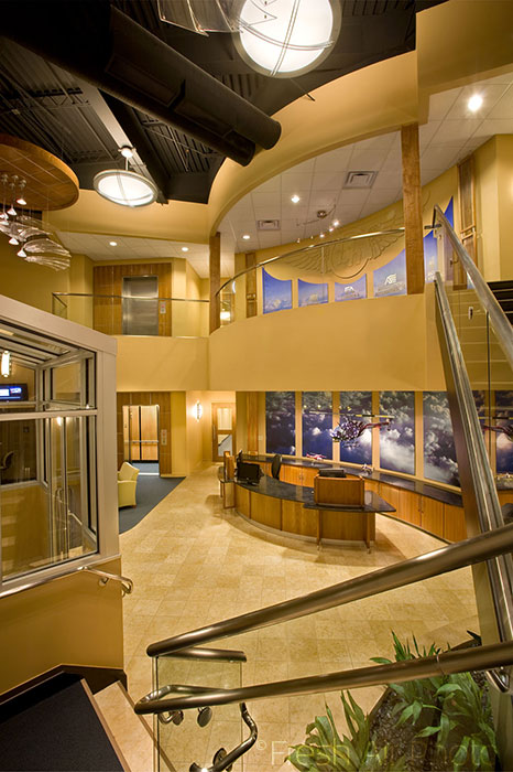 Bell Helicopter lobby - interior