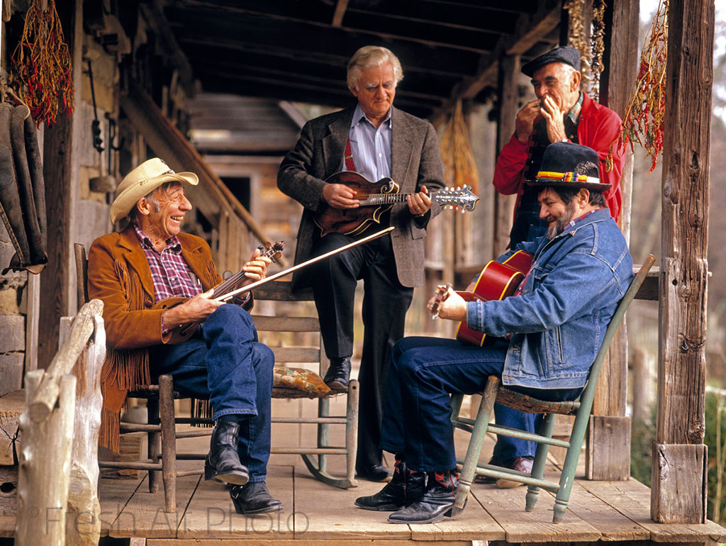 NY Times - Porch Fiddlers