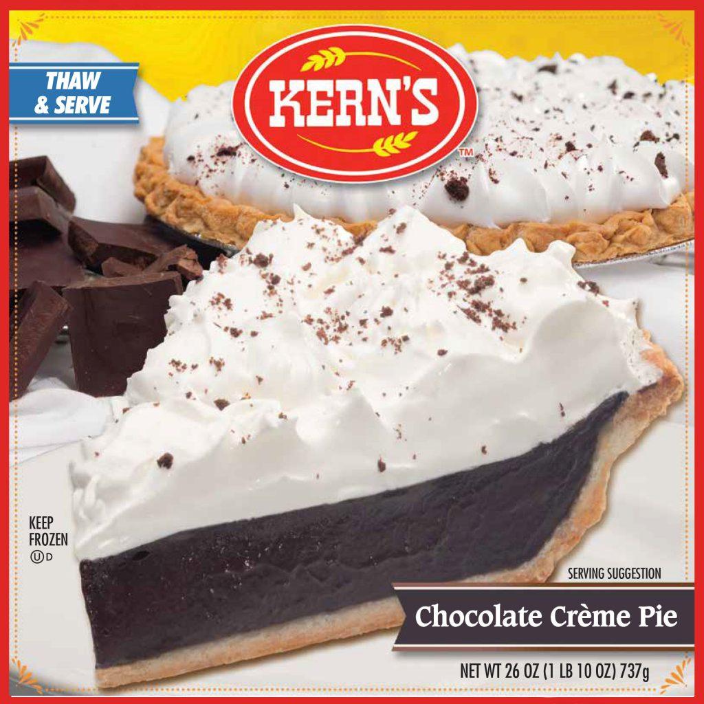 KERNS CREAM PIE Chocolate Specialty Baker 8234